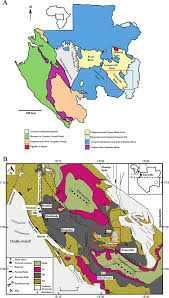 Gabon Map Origin Of Red Beds In The Paleoproterozoic Franceville Basin