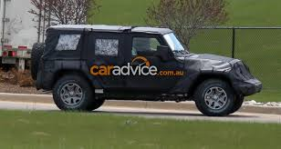 2018 jeep wrangler 2018 jeep wrangler unlimited spied all new 4wd comes out to play