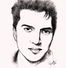 sketches and drawings dharmendra pencil sketch