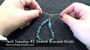 bracelet youtube images Tech tuesday 3 knotting for stretch bracelets jpg