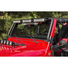 jeep wrangler tj light bar rugged ridge 11232 08 windshield led light bar 97 06 jeep wrangler tj