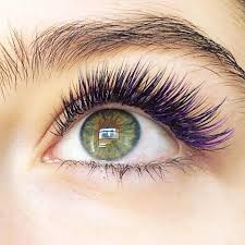 colored mermaid eyelash extensions brighten your eye color brit co