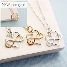 necklace gift images Gift for mom infinity heart necklace mothers day gift mothers jpg