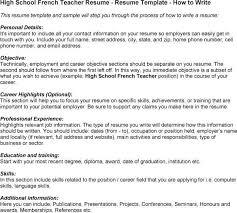 Best Master Teacher Resume Example by Resume Sample For French Teacher Resume Ixiplay Free Resume Samples