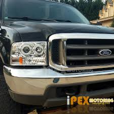ford f250 2004 1999 2004 ford f250 f350 duty halo led projector