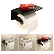 Toilet Paper Roll Storage Sus304 Stainless Steel Toilet Paper Tissue Holder Paper Roll With