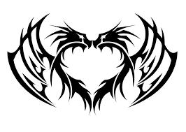100 tribal tattoos hearts 20 best large tribal heart tattoo