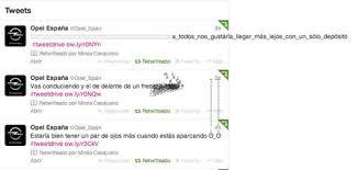 Toner Opel opel espa祓a ca祓a viral en tweets que se salen