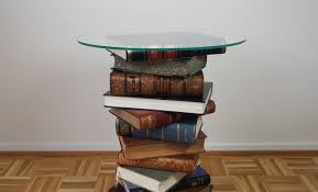 Diy Side Table Diy Side Table Made From Old Books Tutorial
