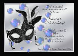 birthday invites incredible masquerade birthday invitations