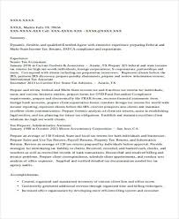 accountant resumes sample resume for accountant resume examples