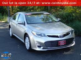 certified used toyota avalon 38 certified pre owned toyotas cain toyota