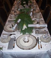 White Christmas Centerpieces - christmas table decorating ideas silver christmas centerpieces