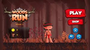 running apk woods endless running apk free arcade for android