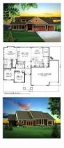 craftsman house plan 73140 total living area 2032 sq ft 3
