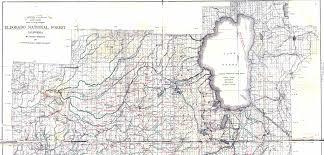 Mt Diablo State Park Map by Georgetown Divide Maps El Dorado County Eldorado National Forest