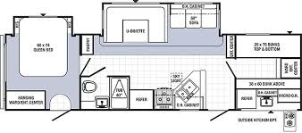 triple bunk travel trailer floor plans new 2014 30fbss bunkhouse travel trailer cer with bunks and