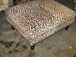 Animal Print Ottomans Animal Print Ottoman Coffee Table Awesome Fresh Wonderful Leopard