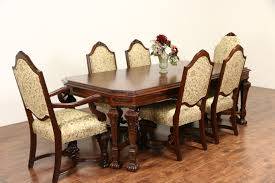 Antique Dining Room Table Chairs Interesting Decoration Antique Dining Room Furniture 1920 Ideas 9
