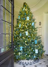 traditional home christmas decorating holiday home dressed in shades of blue traditional home