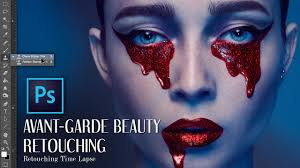 Beauty Garde by High End Avant Garde Beauty Retouching Time Lapse Youtube