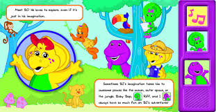 barney friends play sound book cuddly barney editors