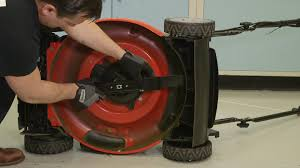 how to replace a lawn mower blade consumer reports