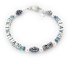 Mothers Bracelets With Names Bali Style Mothers Bracelet With Small Alphabet Block Letters