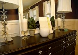 Buffet Decorating Ideas by Excellent Dining Room Buffet Decorating Ideas On Inspiration