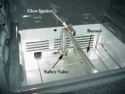 whirlpool oven pilot light range diagnostic help