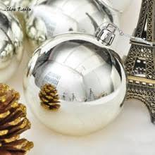 Silver Christmas Tree Baubles - popular christmas tree decorations balls silver buy cheap