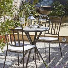 Diy Bistro Table Sofia 2 Seater Bistro Set Departments Diy At B U0026q