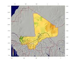 Mali Map Africa by Maps Of Mali Detailed Map Of Mali In English Tourist Map