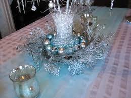 ice blue table runner carolinajewel s table my fifth blogiversary winter wonderland