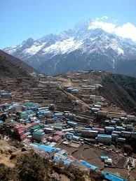 Map Of Everest Everest Base Camp