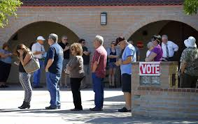 Arizona How To Become A Travel Writer images There were 5 hour lines to vote in arizona because the supreme jpg