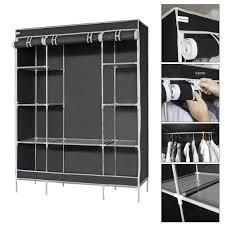 rangement vetement chambre finether armoire de rangement penderie de vêtement pliable en