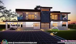 contemporary home design april 2016 kerala home design and floor plans