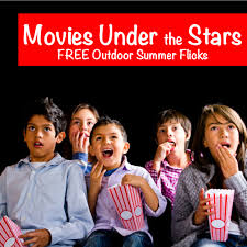 where to find free outdoor movies in nj this summer