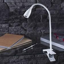 le bureau pince le de bureau liseuse à pince en métal blanc gao inspire