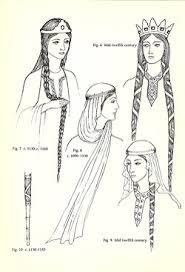 viking anglo saxon hairstyles peinados medievales peinados medievales pinterest medieval