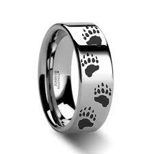the bears wedding band men s wedding rings men s rings by style animal themed bears