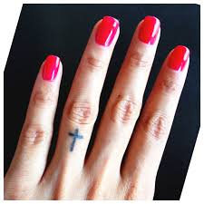 small cross tattoos on finger pictures to pin on