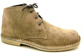 womens desert boots size 9 roamer mens leather lace uup chukka ankle boots memory foam