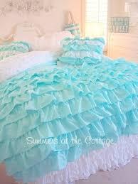 Ruffled Comforter 40 Dreamy Shabby Chic Decor And Bedding Ideas Diy Joy