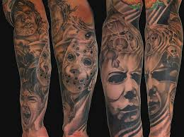 horror classics design tattoos book 65 000 tattoos