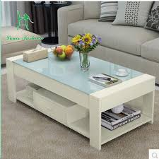 Glass Table For Living Room Special Packages Mailed Contracted And Contemporary Tea Table Of