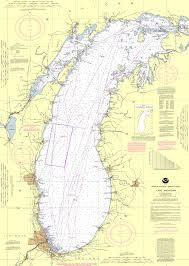 Map Lake Michigan by Lake Michigan Chart Puzzle Jigaprints