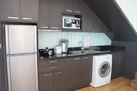 Laundry In Kitchen Ideas by Small Kitchen For Narrow With Washing Machine Kitchen