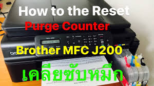 brother printer mfc j220 resetter brother printer mfc j200 how to the reset purge counter เคล ยซ บหม ก